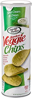Sensible Portions Garden Veggie Chips, Sour Cream & Onion, 141 gm, Pack of 1