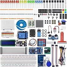 kuman RFID Starter Kit for Raspberry Pi 4 B 3 B/B+, Python C Code, 21 Projects, Electronics and Programming Beginner/Learning Kit (Soldered LCD I2C 1602)