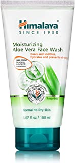 Best Himalaya Moisturizing Aloe Vera Face Wash for Smooth, Clean, Hydrated & Soft Skin, 5.07 oz Review