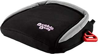 BubbleBum Inflatable Backless Travel Booster Car Seat, Black