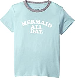 Billabong Kids - Mermaid All Day Tee (Little Kids/Big Kids)