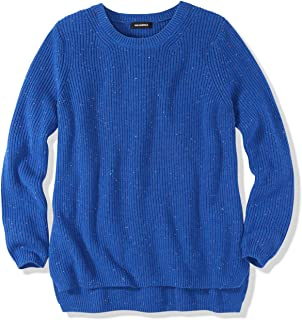 Women's Emma Cotton Shaker Stitch Crewneck Sweater