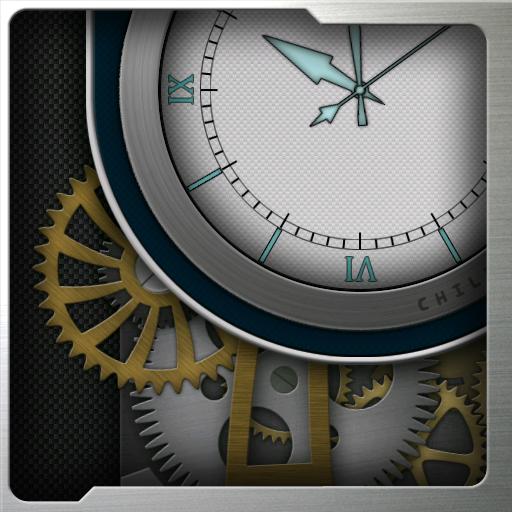 Clockwork HD Live Wallpaper: Carbon…