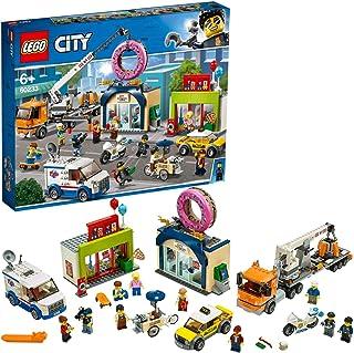 LEGO 60233 City Otwarcie Sklepu z Pączkami, Wielokolorowy