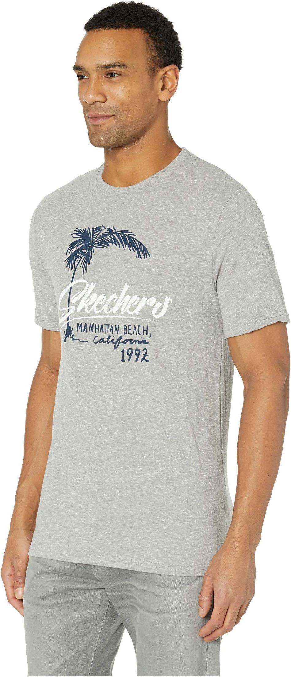 SKECHERS Performance Blissful Graphic Tee Manhattan Beach H25W2