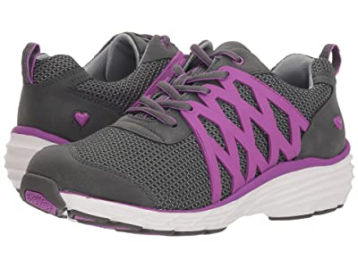 Nurse Mates Brin (Grey/Purple) Women