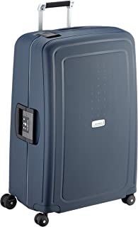 Samsonite S'Cure DLX Spinner 75 Bagaglio a Mano, L (75cm-102L), Blu (Midnight Blue)