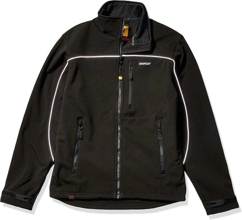Caterpillar Men's Soft Shell Jacket Size and Regular Max Max 70% OFF 48% OFF Big Tall