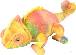 "Wild Republic 12275 Chameleon Stuffed Animal Plush Toy, Gifts for Kids, Mini Cuddlekins, 8"", Yellow"