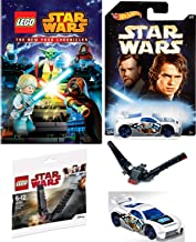 Raid & Clash Lego Star Wars: The New Yoda Chronicles Animated Episodes DVD & LEGO Kylo Ren Shuttle & Hot Wheels Skywalker Car Kids Animated Toy Pack