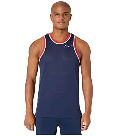 Nike Dry Classic Jersey (College Navy/White/White) Men