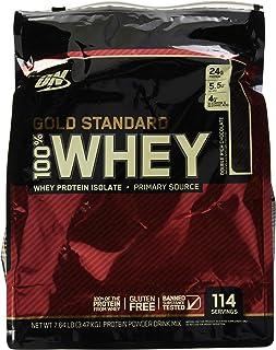 Optimum Nutrition Gold Standard 100% Whey, Double Rich Chocolate, 7.64 lb (3.47 kg)