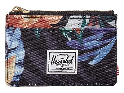 Herschel Supply Co. Oscar RFID (Summer Floral Black) Wallet Handbags