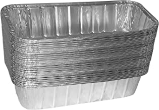 TYH Supplies 30-Pack Aluminum Foil BBQ Grease Drip Pans Compatible with Weber Genesis II LX 400 & 600, Summit 400 & 600 Series, and Summit Gold & Platinum 6-Burner Model Gas Grill 9.75 x 3.75 Inch