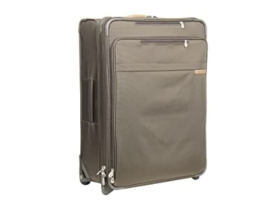 Briggs & Riley Baseline Large Expandable Upright (Olive) Luggage