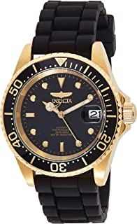 Invicta Men's Analog Automatic-self-Wind Watch with Stainless-Steel Strap 23681 (Gold)