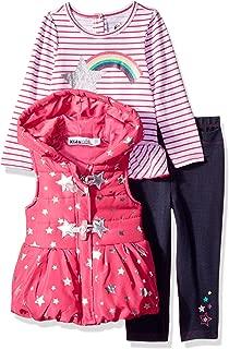 Baby Girls 3 Pieces Vest Set