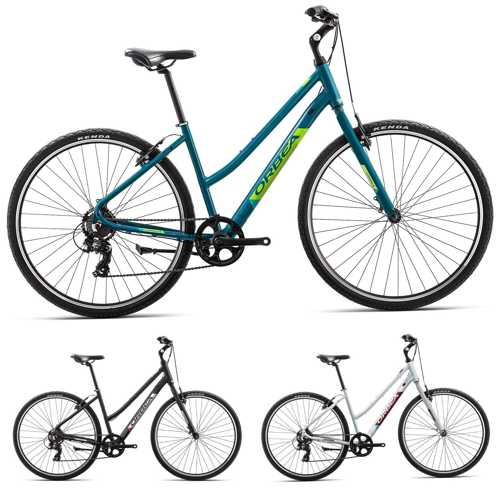 Orbea Comfort Bicicleta de trekking 42 7 marchas, 28 pulgadas ...