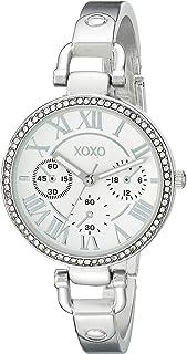 ساعة اكس او اكس او للنساء XO5757 انالوج بعقارب كوارتز فضي