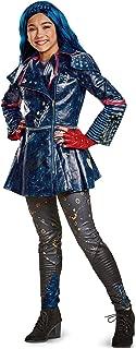 Disguise Evie Prestige Descendants 2 Costume, Blue, Medium (7-8)