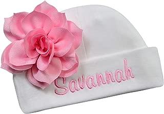 embroidered newborn hat