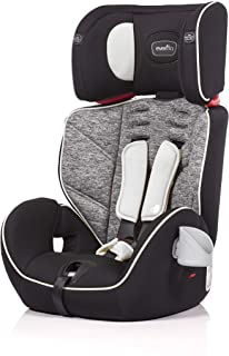 Evenflo Theron 3-in-1 Booster Car Seat 9-36Kg, Black Granite