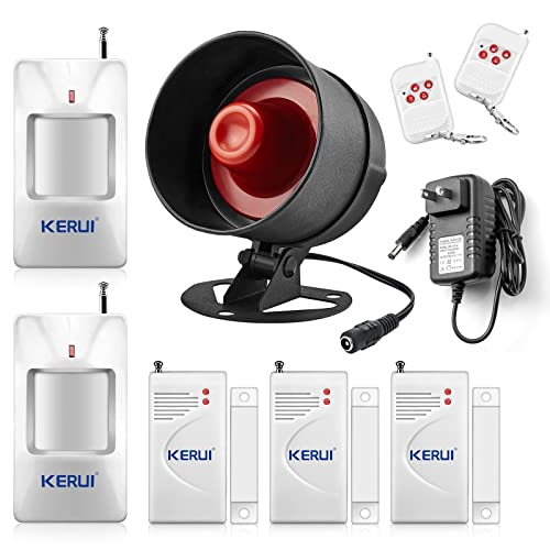 9d87b0a8ed KERUI Standalone Home Office   Shop Security Alarm System Kit