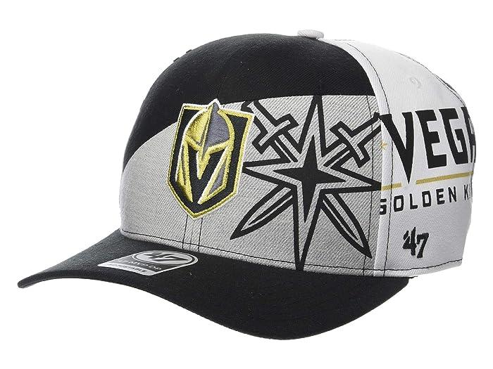 Vegas Golden Knights Patchwork 47 MVP DP Black