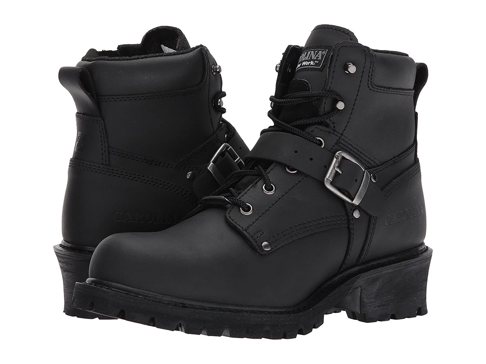 """Carolina Rebel 6"""" Ankle Strap Side Zipper Logger CA832Selling fashionable and eye-catching shoes"""