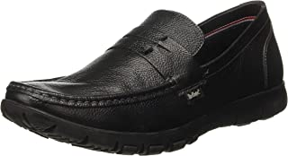 Lee Cooper Men's Lc1422ablack Leather Loafers