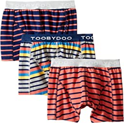Multi Stripe Underwear 3-Pack (Infant/Toddler/Little Kids/Big Kids)