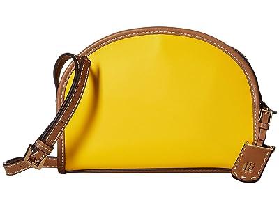 Tommy Hilfiger Julia Half Moon Crossbody (Yellow) Cross Body Handbags