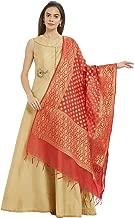Dupatta Bazaar Woman's Woven Banarasi Silk dupatta