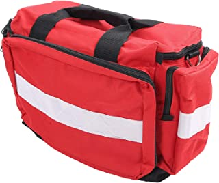 Emergency Aid Tools Pouch, Emergency Trauma Kit Pouch, Portable Fashionable Red First Aid Supplies for Outdoor Home