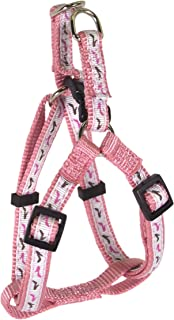 Hamilton Pixie Pet Collection Guys and Dolls Fashion Adjustable Easy on Harness for Dogs, 3/8-Inch by 10 to16-Inch, Shoes/...
