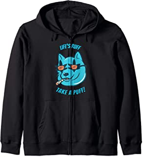 Expression Tees Pug Life Funny Thug Life Youth-Sized Hoodie