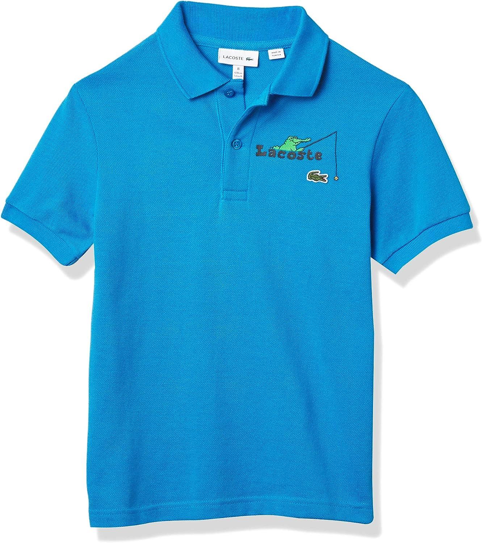 Lacoste Little Boys Branded Polo Shirt