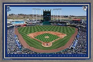Trends International MLB Kansas City Royals - Kauffman Stadium Wall Poster, 22.375