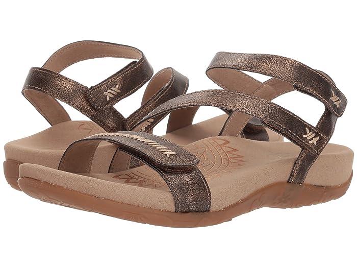 Aetrex  Gabby (Bronze) Womens Sandals
