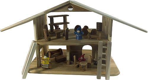 autentico en linea Lichee Toys 105007 Grande Grande Grande gnomo Casa, casa de muñecas para Niños pequeños  toma