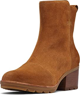 Women's Cate Bootie Waterproof Ankle Boot with Stacked Heel