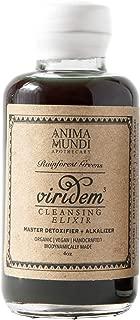 Anima Mundi Greens Detox - Master Detoxifier + Alkalizer, Viridem Organic Cleansing Elixir, Chlorophyll Liver Support with Chanca Piedra, Moringa + Chlorella (4oz / 118ml)