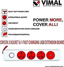 VIMAL - CR 102 Crysta 4+1 Spike Guard with USB