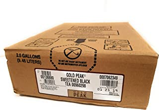 Gold Peak Sweet Black Tea 2.5 Gallon Bag in Box Soda Syrup