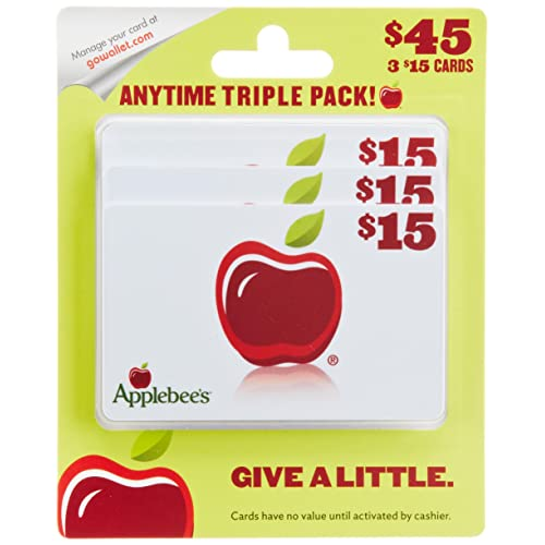 Applebee's  Gift Cards, Multipack of 3