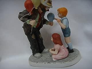 Flambro Clown Porcelain Ornament Vintage Figurine 6