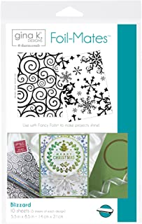 Gina K. Designs for Therm O Web Foil-Mates Holiday, 5.5