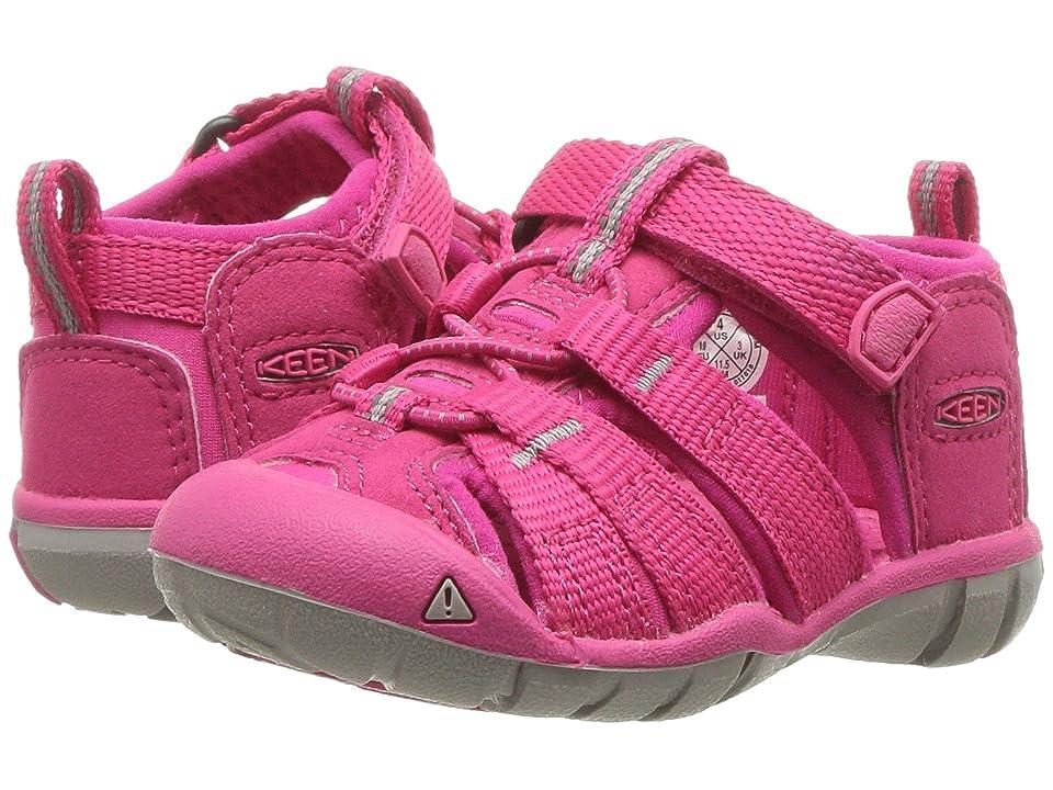 Keen Kids Seacamp II CNX (Toddler) (Hot Pink) Girls Shoes