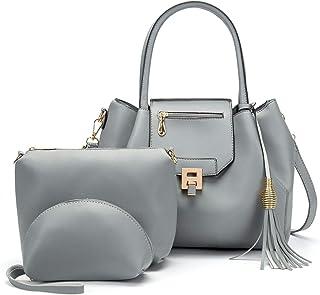 Fashion Retro Handbag Set Of 3 Versatile Multi Piece Set (Color : E)