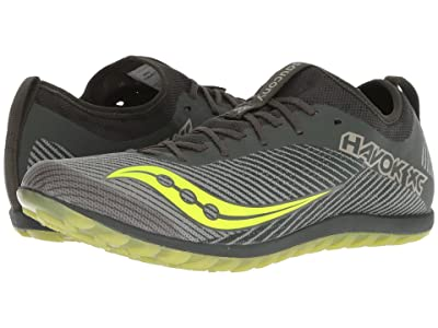 Saucony Havok XC2 Flat (Green/Citron) Men
